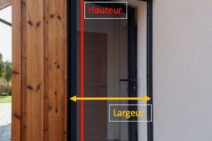 mesurer une ^porte moustiquaire sur mesure